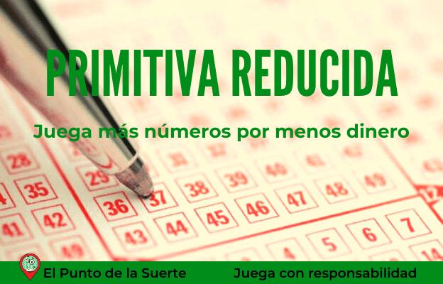 Jugar Lotería Primitiva Reducida